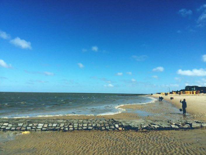 Strand Flut Sand