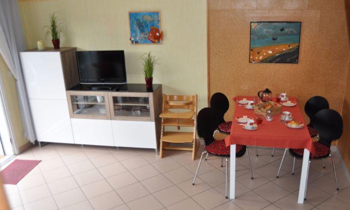 Wohnzimmer Cuxhaven Ferienhaus Exner