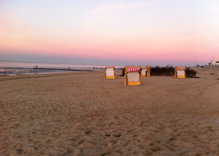 Strand Sonennuntergang